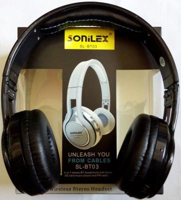 dab5dcb63d7 Sonilex BT-03 Stereo Dynamic Bluetooth Headphone Headphones Review ...